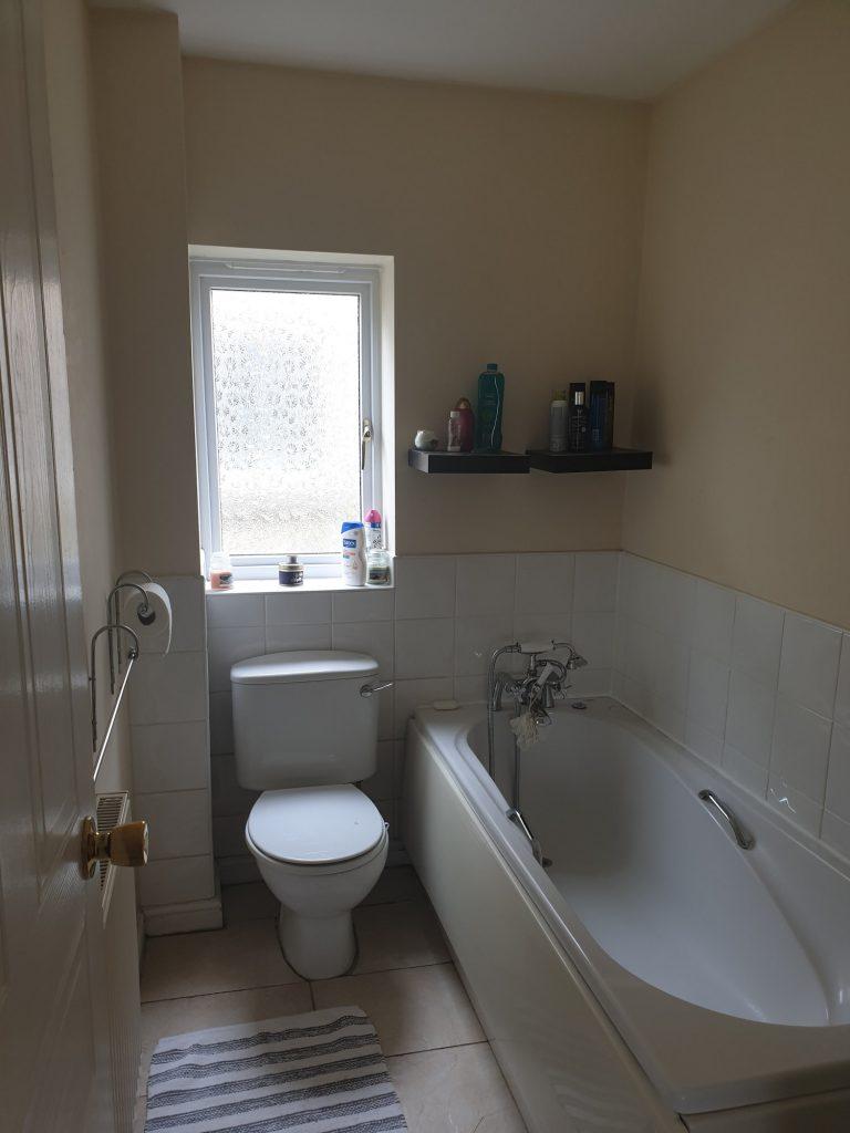 shower installation before