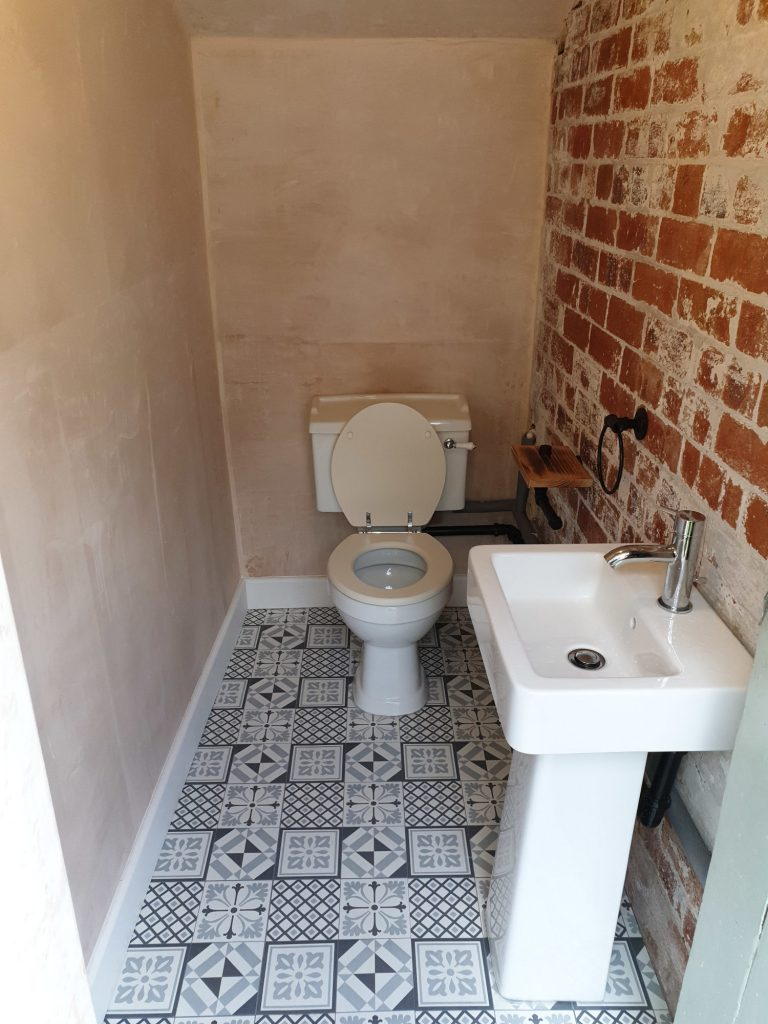 toilet job after