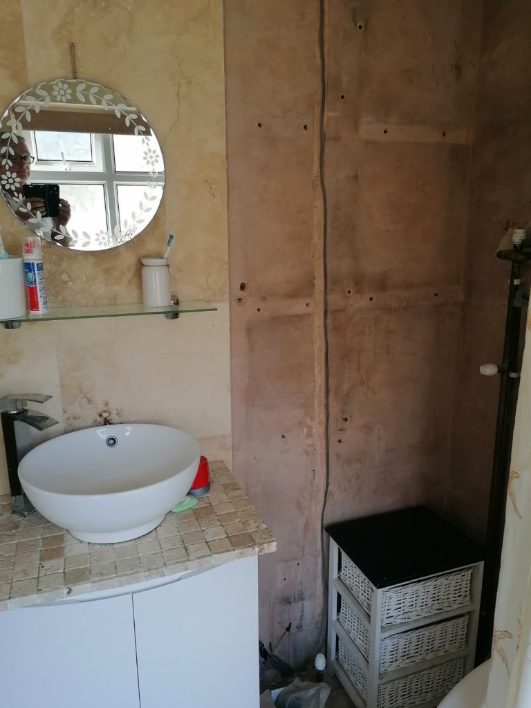 bathroom renovation before 1